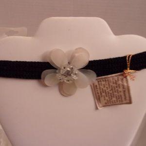 Nwts Designer Choker Necklace 10-5